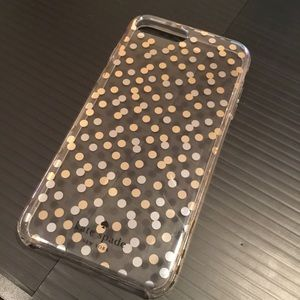 Kate Spade Hardshell iPhone 7+ Confetti Phone Case